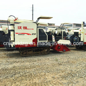 Rice Harvesting Thresher with Rotary Grain Discharge Pipe pictures & photos