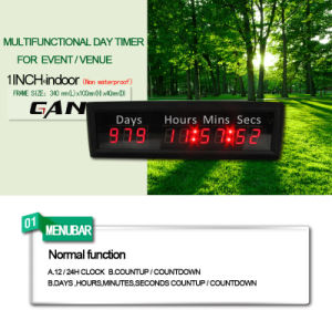 [Ganxin]7segment Digital Countdown Timer LED Timer with Memory