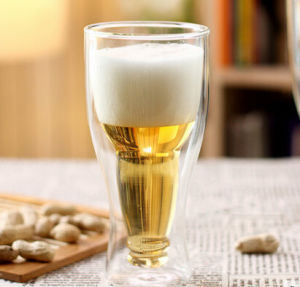 2015 New Type Upside Down Beer Cup Glass Beer Cup pictures & photos