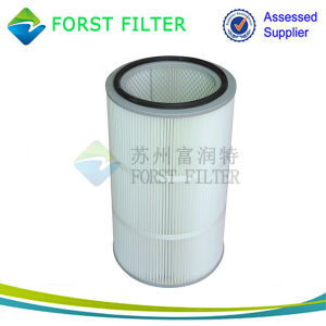 Forst Membrane Spun Bonded Polyester Industrial Dust Filter Cartridge pictures & photos