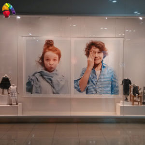 Custom Promotion Retail Indoor Hanging Polyester Banner pictures & photos