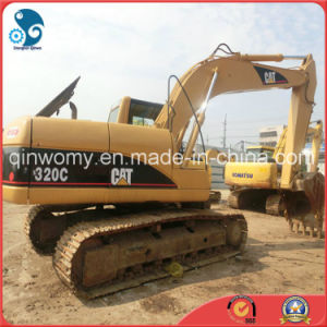 Shanghai Cat-Diesel-Engine 2006~2008 Crawler Used 0.5~1.0cbm/20ton Caterpillar 320c Hydraulic Excavator pictures & photos