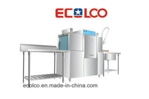 Automatic Conveyor Dishwasher Eco-1A pictures & photos