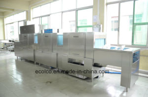 Eco-L950 Industrial Commercial 9 Meter Dish Washer Machine pictures & photos