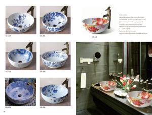Bathroom Sanitary Ware Classaical Art Basin (D09) pictures & photos