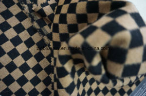 Black & Brown Check Wool Fabric pictures & photos