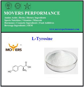 Factory Supply Amino Acids L-Tyrosine with Best Price pictures & photos