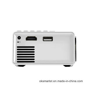 2016 Professional Manufacturer Portable Micro/Mini Qvga 320X240 Full HD Yg-300 LCD Projector pictures & photos