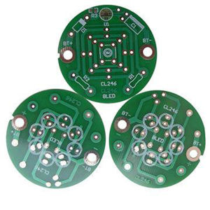 Fr-4 Single Sided Gold Plating PCB pictures & photos