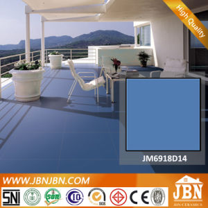 Russian Pure Blue Color Vitrified Porcelain Tile (JM6918D14) pictures & photos