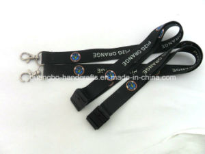 Custom Heat Transfer Polyester Lanyard pictures & photos
