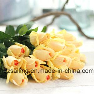 Popular Single Stem Rose Artificial Flower (SW15551) pictures & photos