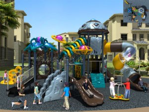 Kaiqi Medium Sized Alien Themed Children′s Outdoor Playground (KQ50068A) pictures & photos
