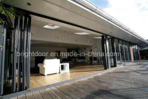 Economic Aluminum Glass Folding Door, Folding Slide Door pictures & photos