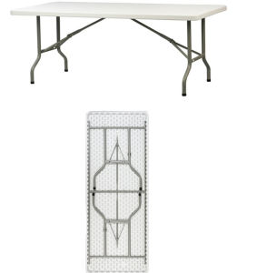 6FT Below-Molding Rectangle Folding Table (YCZ-183C) pictures & photos