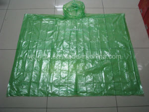 Cheap Disposable Emergency Raincoat PE Poncho for Promotion