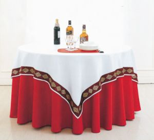 Classy Restaurant Dining Room Double Table Cloth pictures & photos