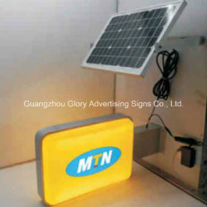 Solar Road Sign Light Box Solar LED Panel Lighting pictures & photos