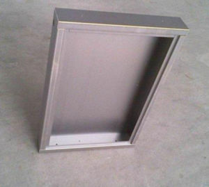 Precise Stainless Steel Welded Plate, Polishing Sheet Metal Fabrication pictures & photos