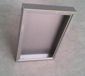 Precise Stainless Steel Welded Plate, Polishing Sheet Metal Fabrication