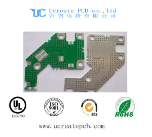 Computer Mortherboard PCB Assembly with Green Solder Mask pictures & photos