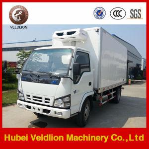 96HP LHD Isuzu Reefer Truck 4tons pictures & photos