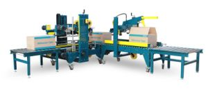 Automatic Case Sealer for Carton Sealing and Packing (EXC-650+EXG-500)
