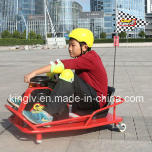 China Supplier Cheap Razor Electric Soliding Tricycle Crazy Drift Cart pictures & photos