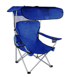 Outdoor Folding Beach Chair with Canopy (MW11034) pictures & photos