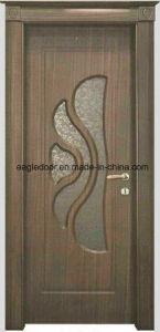 Economical Interior Wooden Rounded MDF PVC Door (EI-P057) pictures & photos
