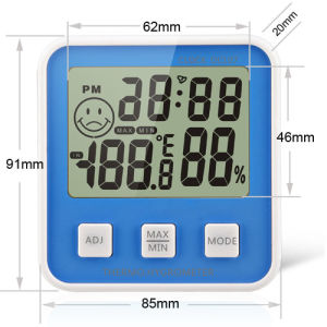 Digital LCD Multi Thermometer Hygrometer DC-107