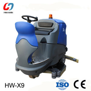 Full Automatic Driving Floor Scrubber with Ce (HW-X9) pictures & photos