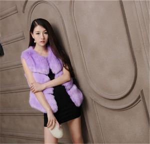 New Style Fur Vest Faux Fur Vest Women pictures & photos