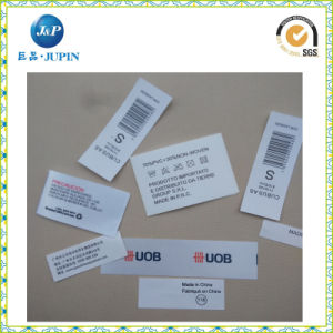 2016 High Quality Wholesale Garment Label Tyvek Printing Label (JP-CL055) pictures & photos