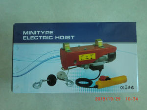 200-1200 Kg PA Wire Rope Hoist Lifting Mini Hoist pictures & photos