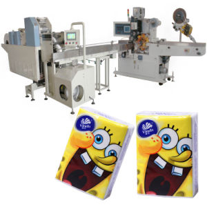 Wallet Pocket Tissue Machine with Folding Embossing pictures & photos
