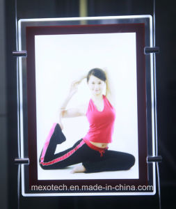 Hanging Style High Quality LED Acrylic Poster Frame Light Box pictures & photos
