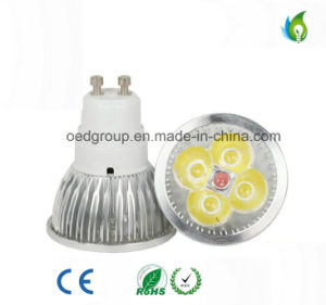 4W GU10 MR16 LED Spot Light with CE RoHS Approved pictures & photos