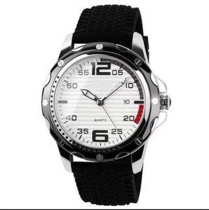 Guangzhou Watch Manufacture Quartz Silicon Strap Watch