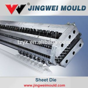 Flat Sheet Extrusion Die T-Mould Sheet Extrusion Mould for Plastic Extrusion Machine