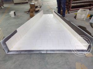 Alumina Ceramic Tile Lining as Hopper, Chute Liner pictures & photos