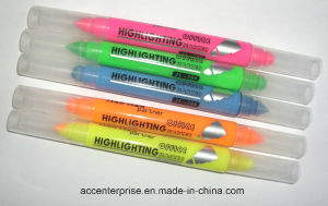 High Quality Double Sides Highlighter Marker 7110 pictures & photos