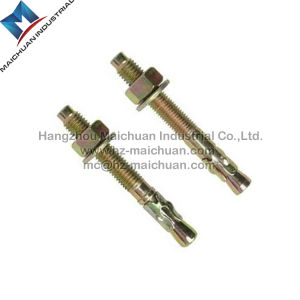 High Quality Carbon Steel Anchor Nut and Anchor Bolt Concrete Wedge Anchor pictures & photos