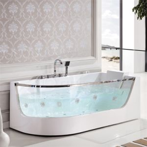 Hot Sale Indoor Portable Massage Bathtub with Massage Bath Tub (SF5B006) pictures & photos
