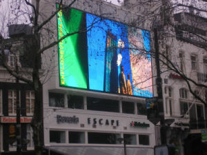 High Quality Outdoor P10 Full Color LED Sign Board (semi-outdoor) pictures & photos