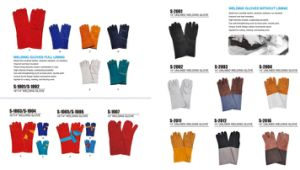 14 Inch Cowhide Working Glove in Heat Resistant Gloves pictures & photos