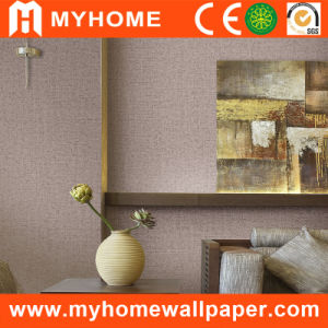 High Grade Plain Textured Wallcovering for Project pictures & photos