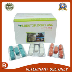 Veterinary Drugs of Albendazole Bolus 2500mg pictures & photos