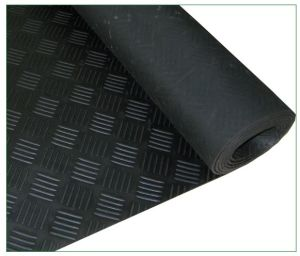 Color Industrial Rubber Sheetl, Anti-Abrasive Sheet, Fiber Rubber Flooring pictures & photos