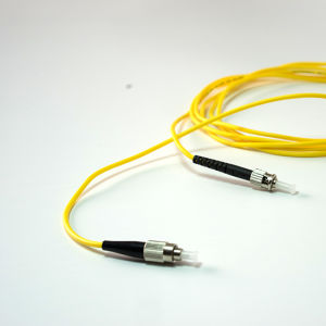 3m FC-St PVC Simplex Sm Fiber Optic Patch Cord pictures & photos